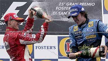 Duelo de Titanes en la F1