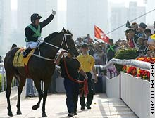 HONG KONG, China (CNN) -- Horse racing is the stuff of legend.